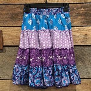 Lovely hobo style skirt, Children's Place, size 12